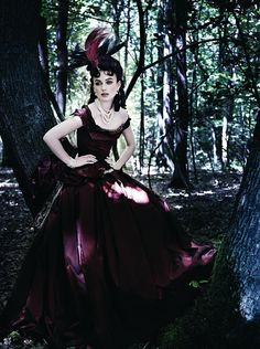 Keira Knightley by Mario Testino forVogue US (October 2012).