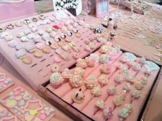 girly, pink, kawaii, sweet, decoden, frosting, cupcake, pastel jewelry