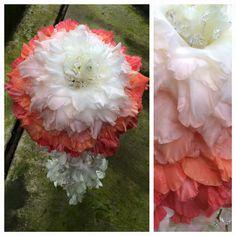 Ombre glamellia bouquet #fantasyflower #furstflorist #furstevents #daytonweddings