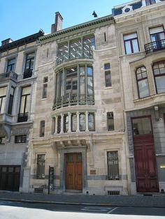 Victor Horta Hotel Tassel - Art Nouveau - Wikipedia, the free encyclopedia