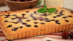 Cherry and Almond Tart   Steven and Chris   This easy and elegant tart is great for a dinner party.
