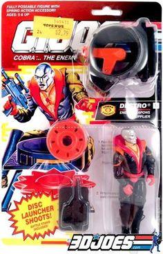 Vintage GI Joe Figure Parts YO JOE! Add to and equip your Gi Joe and Cobra army with figures, vehicles and parts from GI Joe Junkyard!