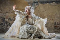 Paula Wilcox as Miss Havisham -   I want to do a Steampunk Miss Havisham