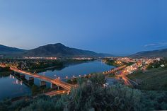 The City of Kamloops BC by Thompson Rivers - One of the many stunning views from the CAC & University.