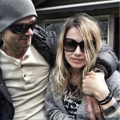 Thomas and Anne wearing clan of dk bracelet - Black and Brown #clanofdk #jewellery #danishdesign #newnordic #sterlingsilver #accessories #fashion #denmark
