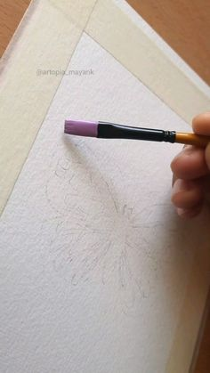 Canvas Painting Designs, Canvas Painting Tutorials, Art Painting Gallery, Watercolor Art Lessons, Watercolour, Watercolor Paintings, Art Drawings Beautiful, Art Drawings Sketches Simple, Doodle Art Designs