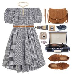 """""""Untitled #1399"""" by timeak ❤ liked on Polyvore featuring Caroline Constas, Crosley Radio & Furniture, Deux Lux, William Morris, L'Occitane, Olivia Burton, HAY and M&Co"""