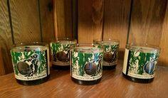 5 Tumblers Barware Farmer Shotgun Site Sutan Atrazine Weeds Glass Old Fashioned | eBay