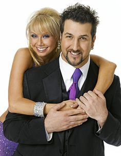Kym Johnson & Joey Fatone's promo shoot.