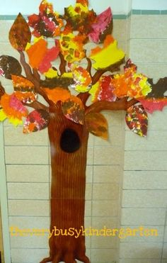The Very Busy Kindergarten: Fresh Fall Leaves Theme