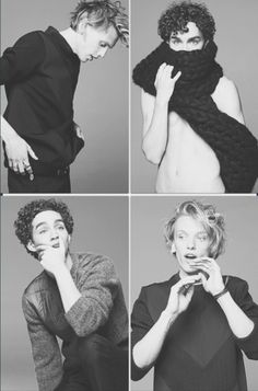 Robert sheehan & jamie campbell