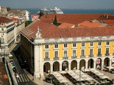 Museu Da Cerveja - A restaurant at Terreiro do Paço Square, downtown Lisbon Lisbon, Coast, Louvre, Building, Travel, Buildings, Viajes, Destinations, Traveling