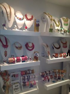 21+ Ideas Jewerly Display Ideas Boutique Shelves For 2019