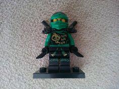 Lego ninjago yeşil ninja