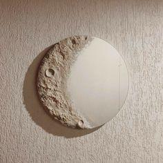 My New Room, My Room, Moon Mirror, Mirror Painting, Aesthetic Room Decor, Round Mirrors, Vintage Walls, Diy Home Decor, Bedroom Decor