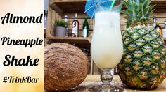 Pineapple Almond Shake - alkoholfreier Cocktail - Rezept - Trinkbar <3