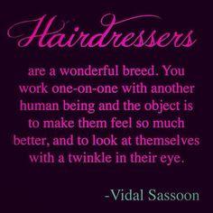 Hairdresser....
