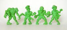 Scary Little Ugly Guys (SLUG) Zombies, Series #1: 4-Pack Exclusives