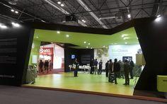 Stand diseñado, construido y montado para Domusa en Climatización 2013