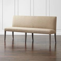 Dining Banquette Bench, Settee Dining, Upholstered Dining Bench, Kitchen Table Bench, Corner Banquette, Kitchen Seating, Kitchen Banquette Ideas, Kitchen Ideas, Kitchen Nook
