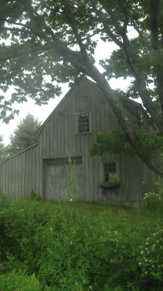 Barn in Maine ~ I would convert this into a home  live in this barn.