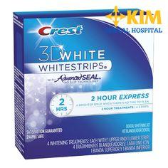 Tổng quan về miếng dán làm trắng răng crest 3d white làm trắng răng nhanh hiện nay