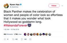 Wakanda women, FOREVER!