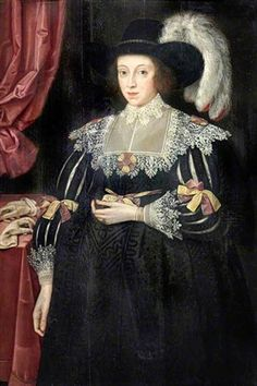 Marcus Gheeraerts the Younger - Portrait of Anne Fanshawe wife of Thomas Viscount Fanshawe, Valence House Museum, LDVAL 11 1500s Fashion, European Dress, Viscount, London Museums, Maternity Portraits, Clothing Sites, Victoria And Albert Museum, French Fashion, Baroque Fashion