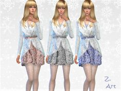 Winter CollectZ. XVII - The Sims 4 Download - Gluppr