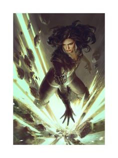 #Yennefer : The Summoner is an official concept artwork for The Witcher 3: Wild Hunt, the video game created by CD PROJEKT RED and GWENT, the Witcher card game. The artist that made this image is Anna Podedworna. This limited edition Certified Art Giclee™ print is part of the official The Witcher fine art collection by Cook & Becker and CD PROJEKT RED. The print is hand-numbered and comes with a Certificate of Authenticity signed by the artist. #TheWitcher3 #CDprojektred