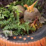 ladybug-painted-rock-for-kids-gardening