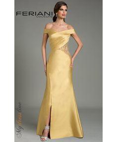 166198 Alex Taffeta Dress