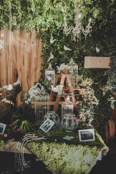Enchanted Garden Wedding of Kevina and Panji - Owlsome of Backdrop Decorations, Wedding Reception Decorations, Backdrops, Wedding Bride, Rustic Wedding, Bali Wedding, Javanese Wedding, Indonesian Wedding, Garden Shed Diy