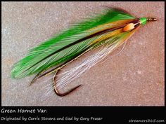 I have used this to fly fish in Newfoundland and the Miramichi in New Brunswick.....and it works!  #319 Green Hornet Variant - Gary Fraser