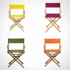 Canvas Directors Chairs
