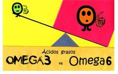 Aprende Cocina y Alimentate sano: Omega 3 vs Omega 6 ¿qué significa?