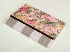 Fabric Journal Cover  England England  A6 by PatchworkMill on Etsy, $18.00