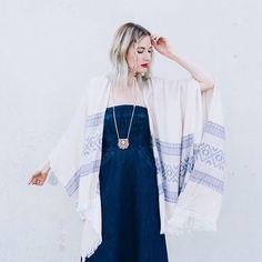North Shore Kimono #Anthropologie #MyAnthroPhoto