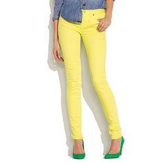 Skinny Skinny Colorpop Jeans #rainydaysoiakyo