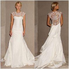 portrait back dresses | Wedding Trend: Portrait Backs | Bridal Blog