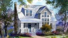 Fly-Ty Retreat - Caldwell/Cline Architects | Southern Living House Plans
