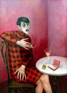 1926 Otto Dix, Portrait of the Journalist Sylvia von Harden