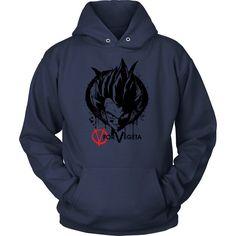 Super Saiyan Vegeta V vendetta Unisex Hoodie T shirt - TL00542HO