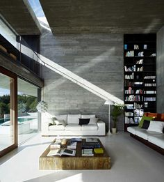 #beautiful #interior living room with double height ceilings