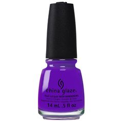 China Glaze Nail Polish - Plur-ple