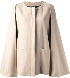 MSGM cape coat on shopstyle.com