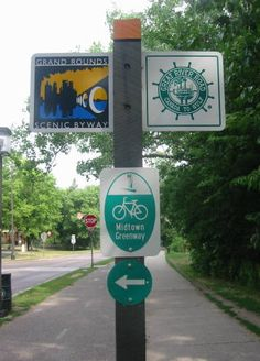 Bike paths are for real in Minneapolis