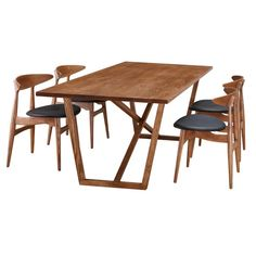 Found it at AllModern - Tricolor Dining Table