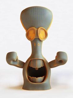 Product design · Toy by Mister Onüff , via Behance