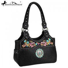Montana West® Western Concho Collection Handbag